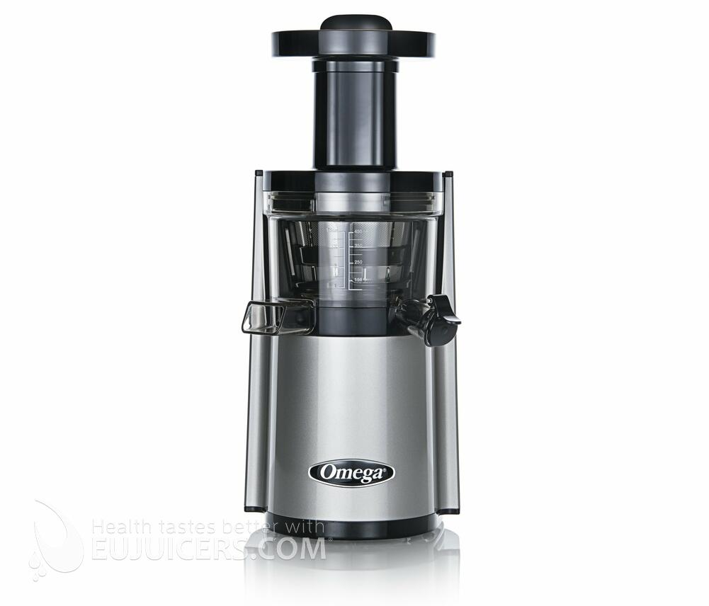 Omega Vert Vsj843rs Slow Juicer In Silver : Sana Juicer by Omega EUJ 808