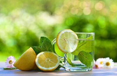 Citruss juice with mint