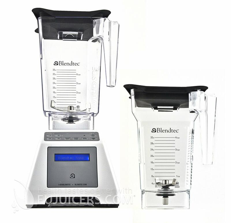 Blendtec 2QT+3QT white
