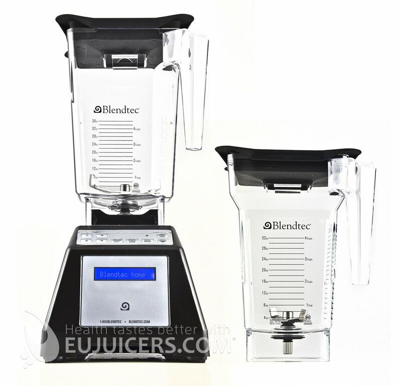 Blendtec 2QT+3QT black