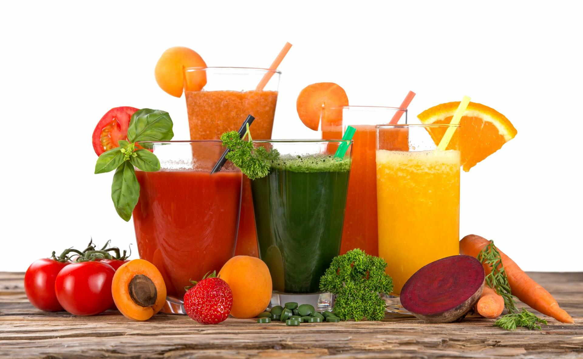 Detoxifying juices