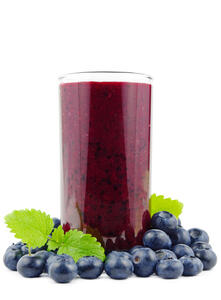 Blueberries Juice