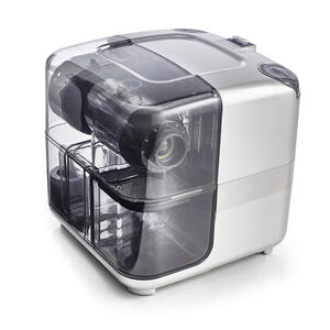 Right side of Omega Juicing Cube silver