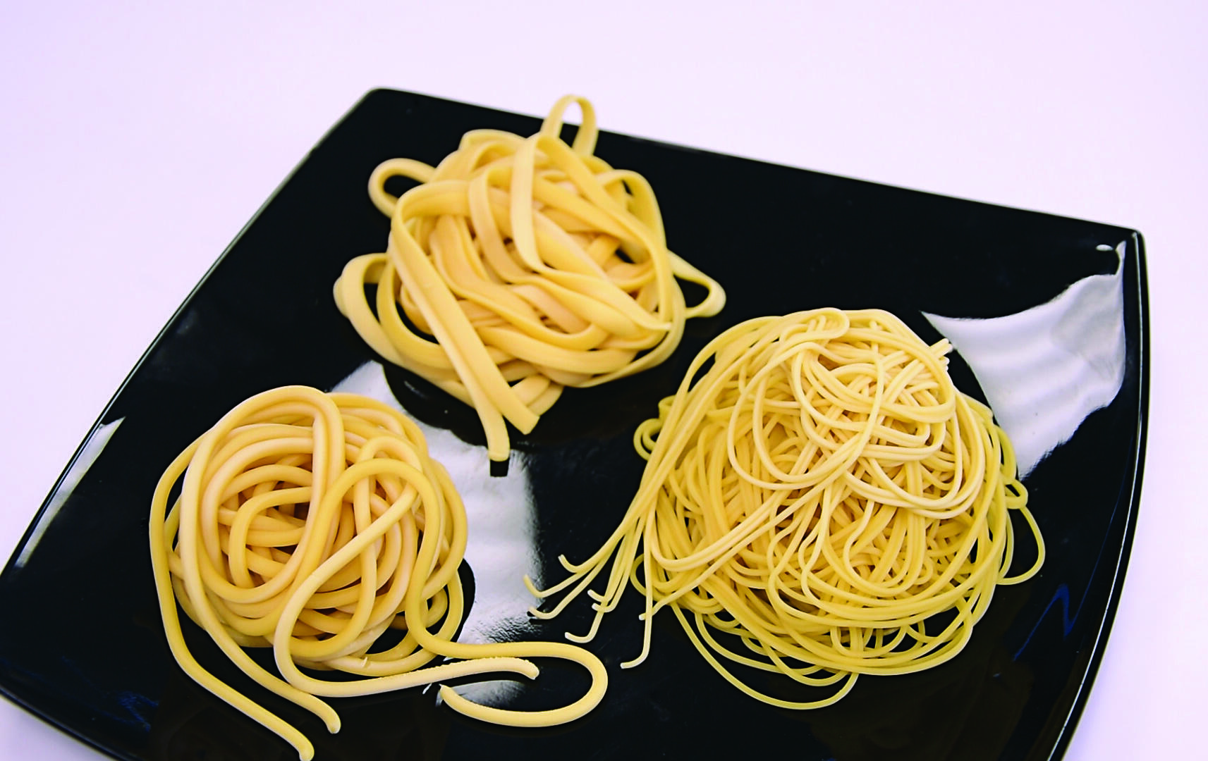 Pasta from horizontal juicer