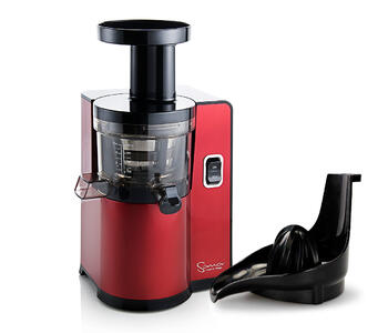 Sana Jucier by Omega EUJ-808 red citrus press
