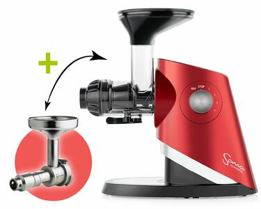 Sana Supreme 727 Juicer red + Sana Oil Extractor 702