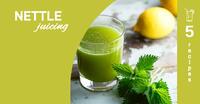 nettle juicing